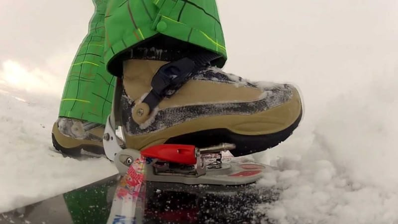 Step-in Snowboard Bindings